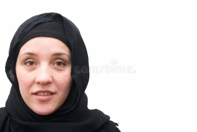 De vrouw van het mohammedanisme stock fotografie