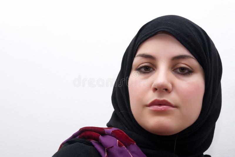 De vrouw van het mohammedanisme royalty-vrije stock fotografie