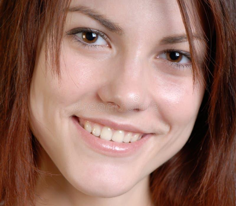 De vrouw van het portret stock fotografie
