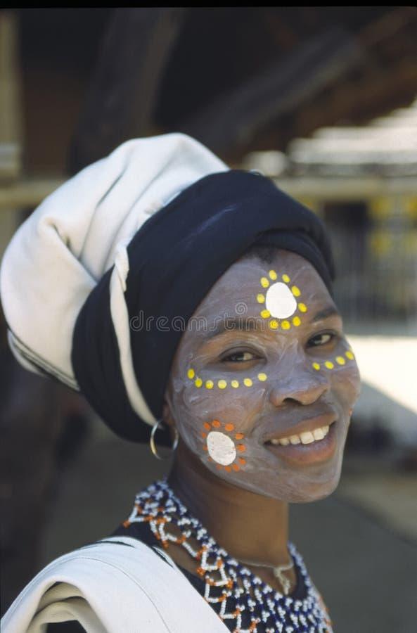 De vrouw van Xhosa royalty-vrije stock afbeeldingen