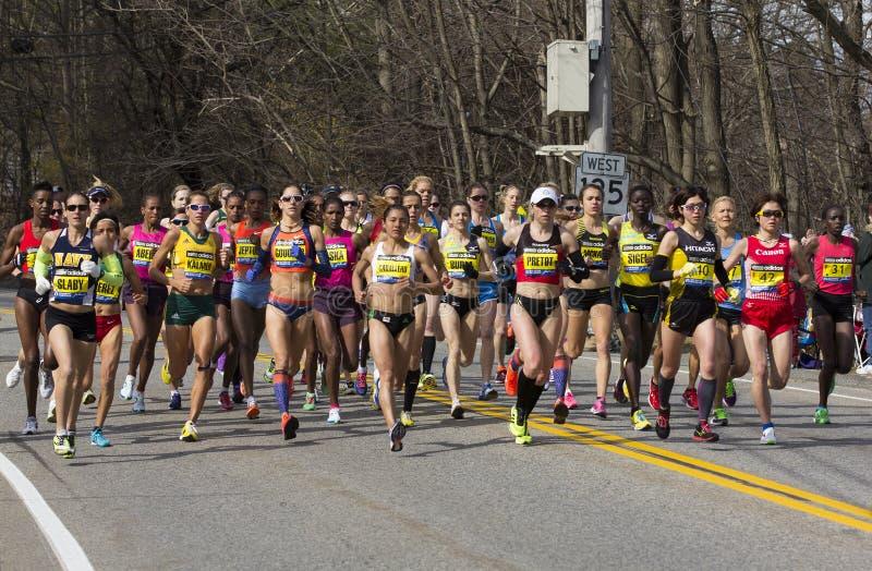 De Marathon van Boston royalty-vrije stock fotografie