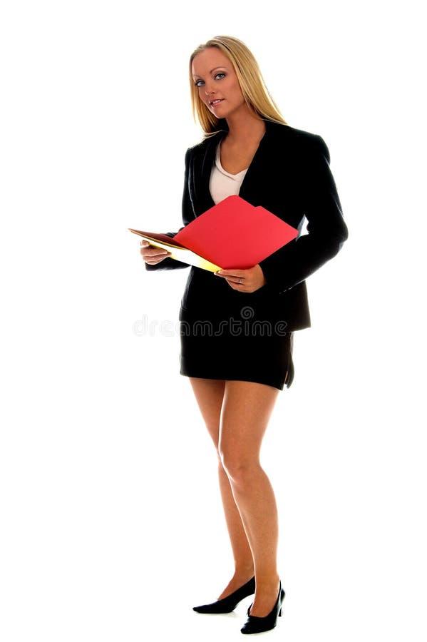 De vrouwelijke Uitvoerende macht stock foto