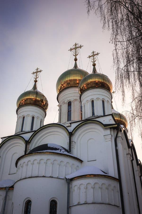 De Vrouwen` s Klooster van Svyatonikolsky Pereslavl in Pereslavl Zalessk royalty-vrije stock afbeeldingen