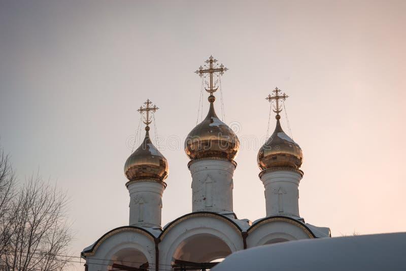 De Vrouwen` s Klooster van Svyatonikolsky Pereslavl in Pereslavl Zalessk stock afbeelding