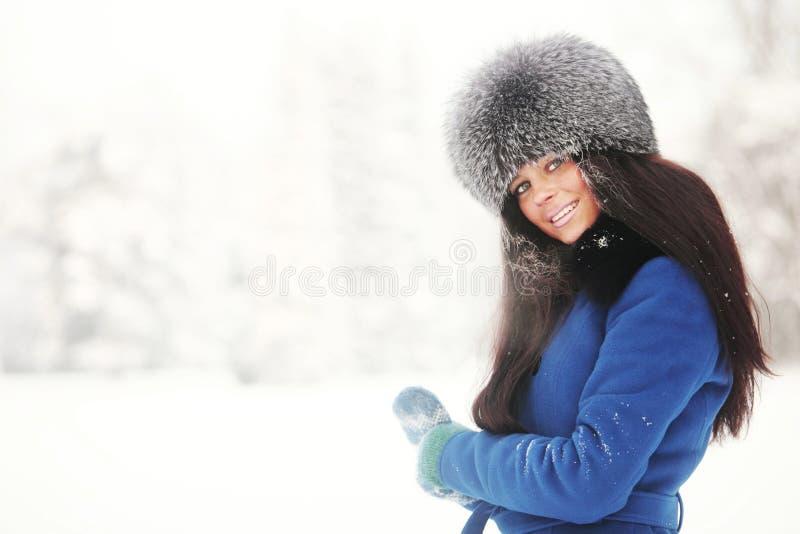 De vrouwen van de winter royalty-vrije stock fotografie
