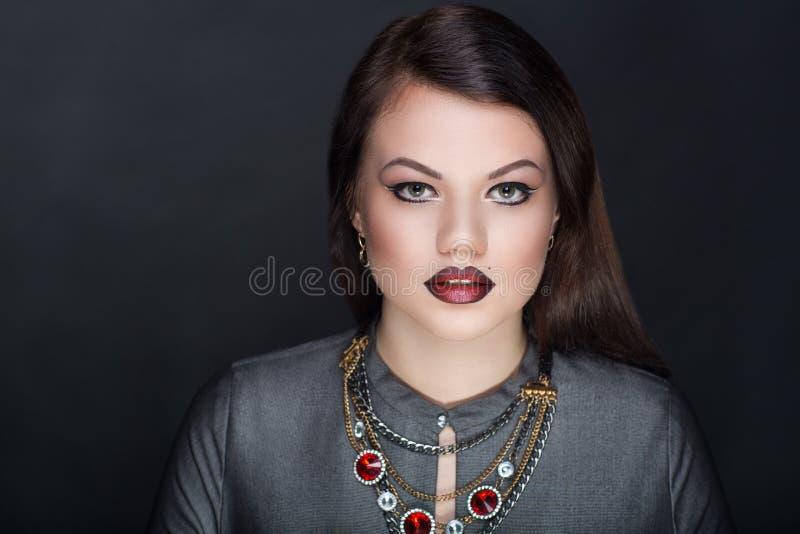 De vrouwengezicht van de schoonheid royalty-vrije stock foto's