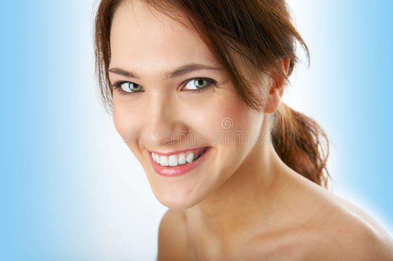 De vrouwenportret van de schoonheid stock foto