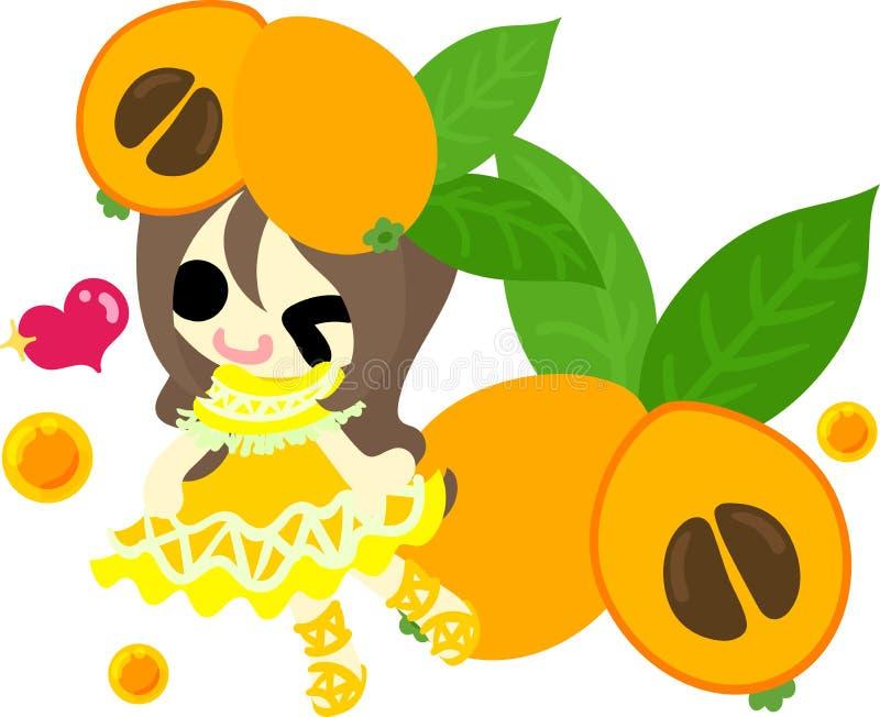 De Vruchten kleding royalty-vrije illustratie