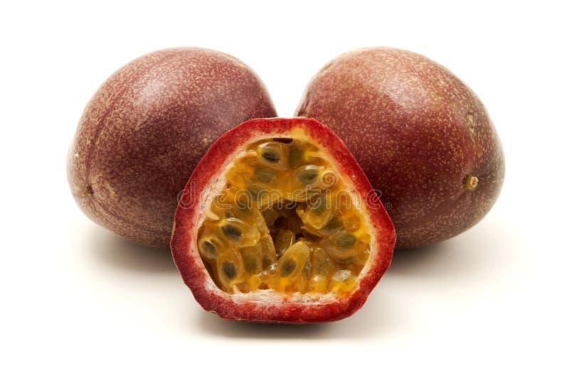 De vruchten van de hartstocht stock foto's