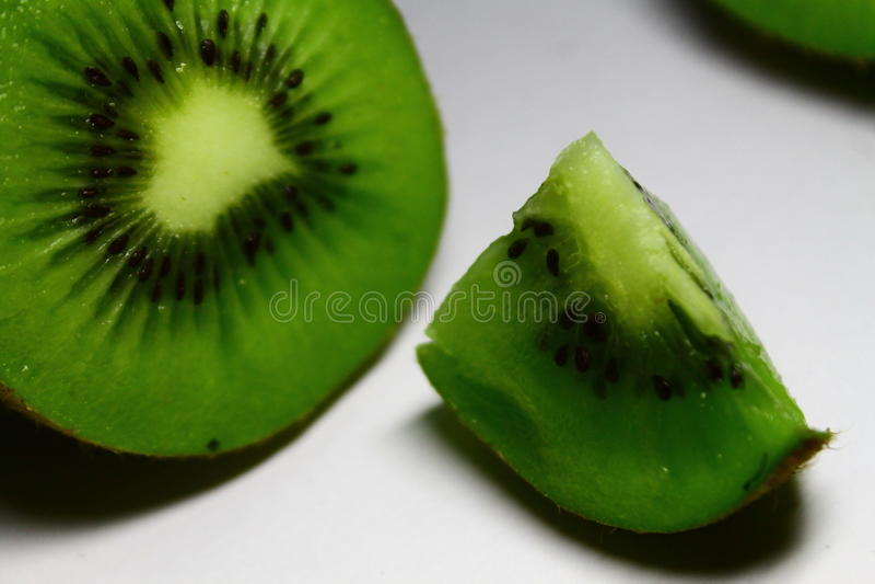 De vruchten van de Zesparikiwi royalty-vrije stock foto's