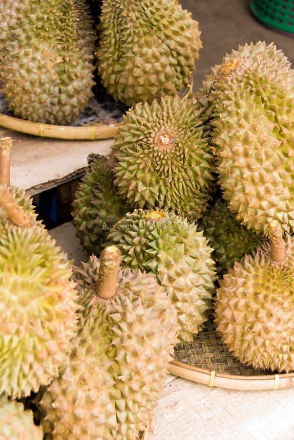 De vruchten van Durian royalty-vrije stock foto