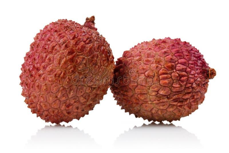 De vruchten van het litchi stock fotografie