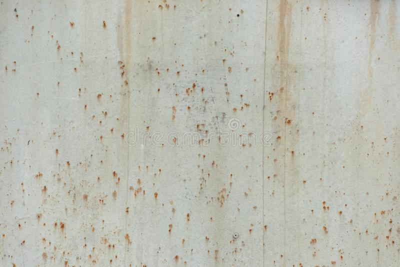 De vuile behandelde corrosie van het metaalblad royalty-vrije stock afbeeldingen