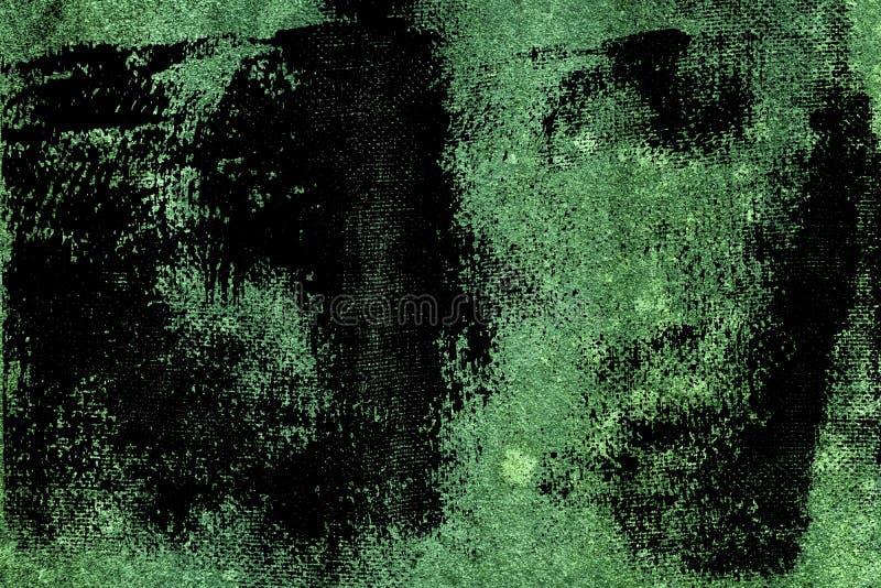 De vuile textuur van het grunge ultra groene Concrete cement, steenoppervlakte, rotsachtergrond stock afbeelding