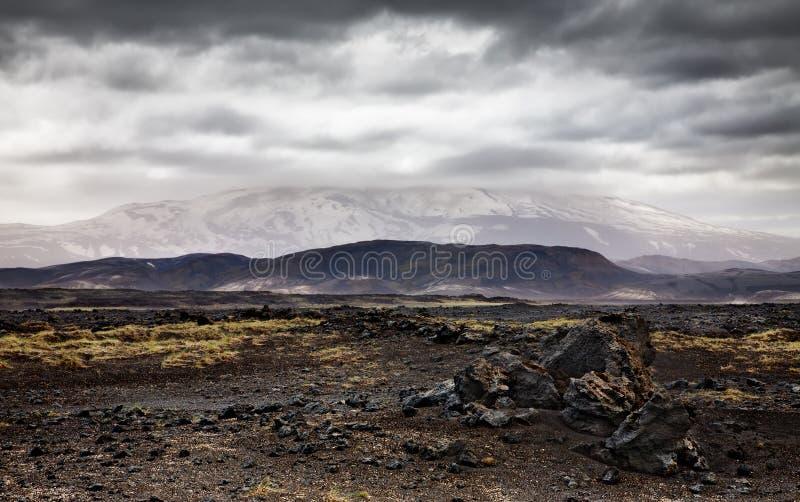 De vulkaan van Hekla royalty-vrije stock afbeeldingen