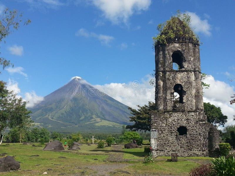 De Vulkaan van Mayon royalty-vrije stock fotografie