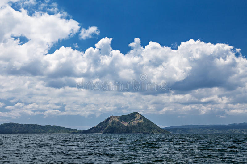 De Vulkaan van Taal, Filippijnen royalty-vrije stock foto's