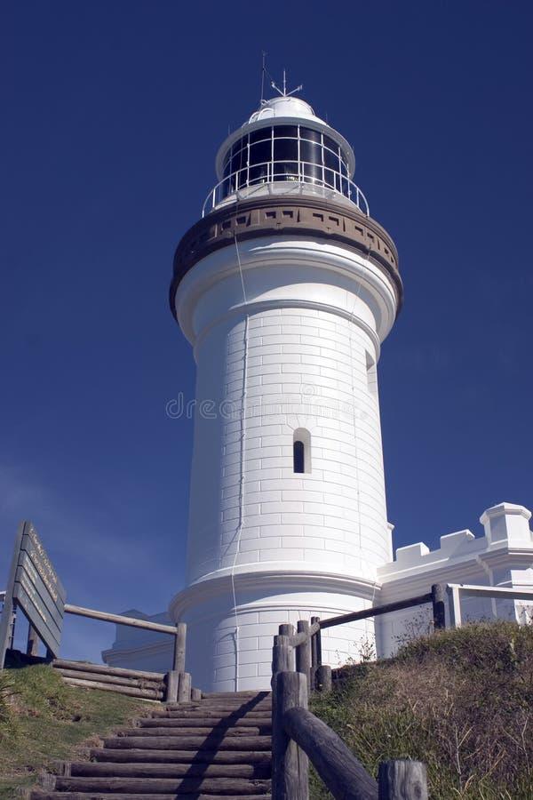 De Vuurtoren van de Baai van Byron, stock foto's