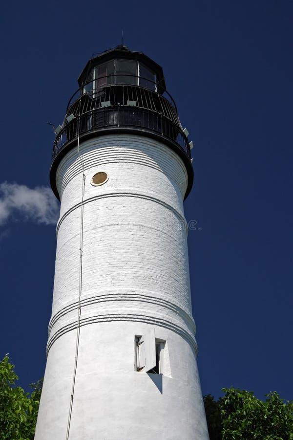 De Vuurtoren van Key West stock fotografie