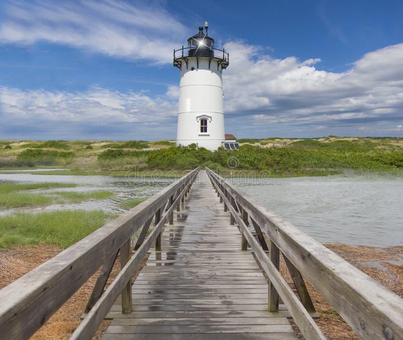 De vuurtoren van New England stock afbeelding