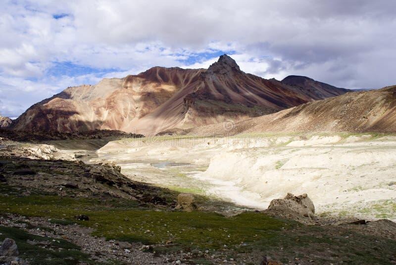 De waaier van Himalayagebergte royalty-vrije stock afbeelding