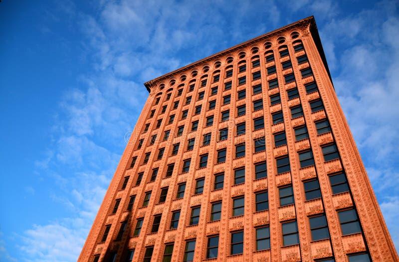 De waarborgbouw, Buffels, New York stock fotografie