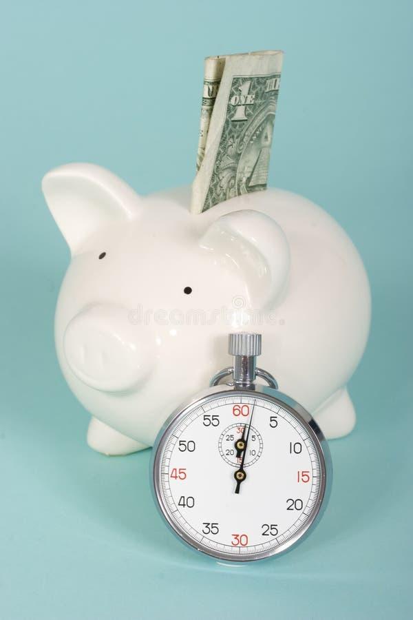 De waarde van de tijd van geld royalty-vrije stock foto's