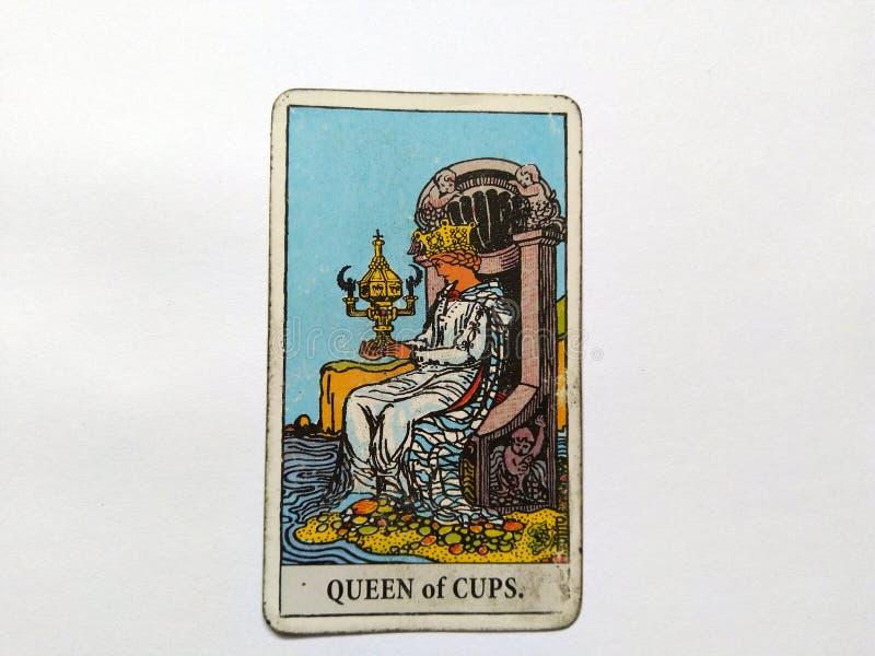 De Waarzegging Geheime Magisch van tarotkaarten stock foto's