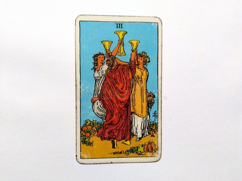 De Waarzegging Geheime Magisch van tarotkaarten royalty-vrije stock fotografie