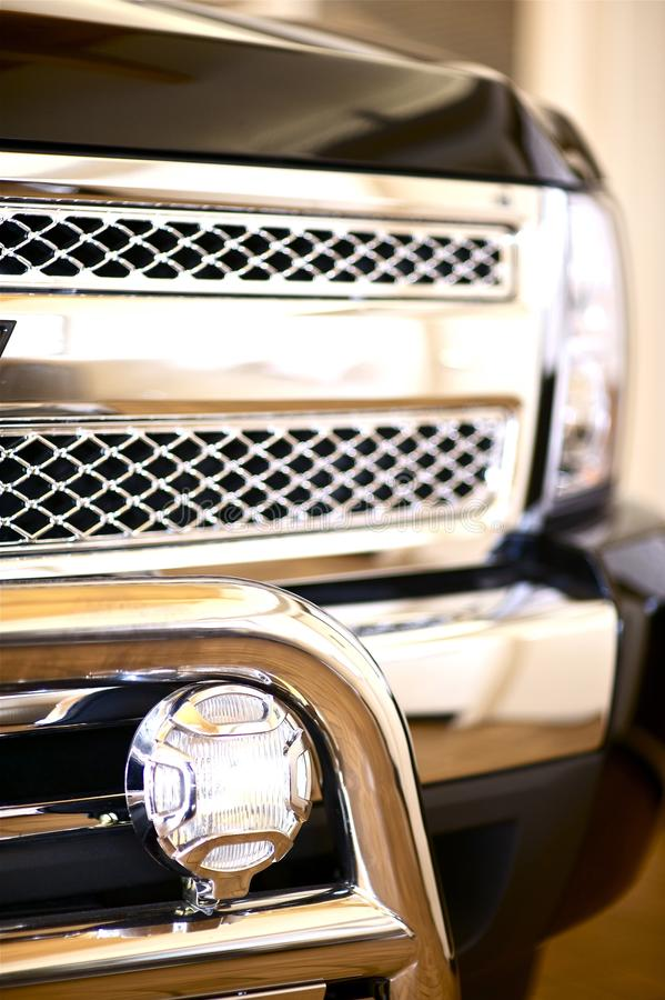 De Wacht van de Grill van de vrachtwagen royalty-vrije stock afbeeldingen