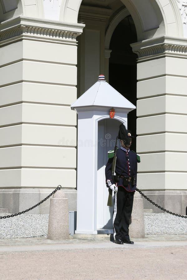 De Wacht van Oslo royalty-vrije stock fotografie
