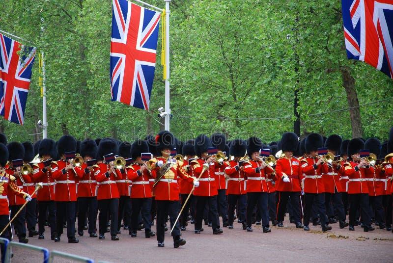 : De wachten van de koningin stock foto