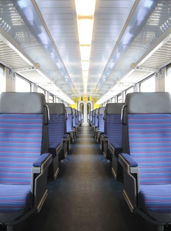De wagen van de trein stock foto