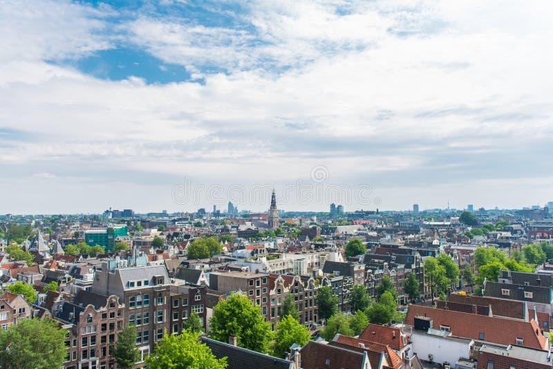 DE Wallen, Binnenstad-district in Amsterdam, Nederland royalty-vrije stock afbeelding