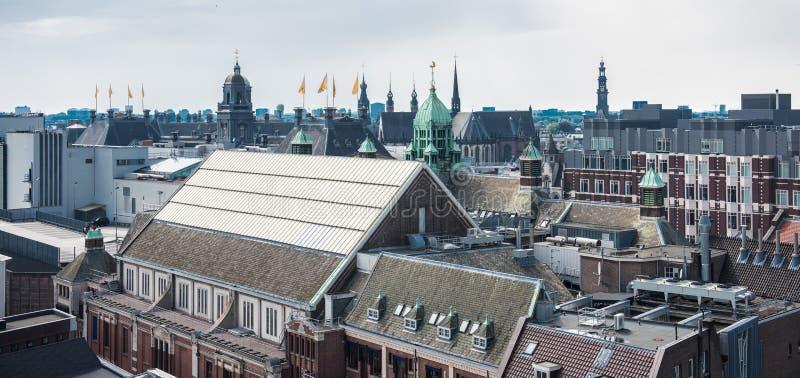 DE Wallen, Binnenstad-district in Amsterdam, Nederland royalty-vrije stock afbeeldingen