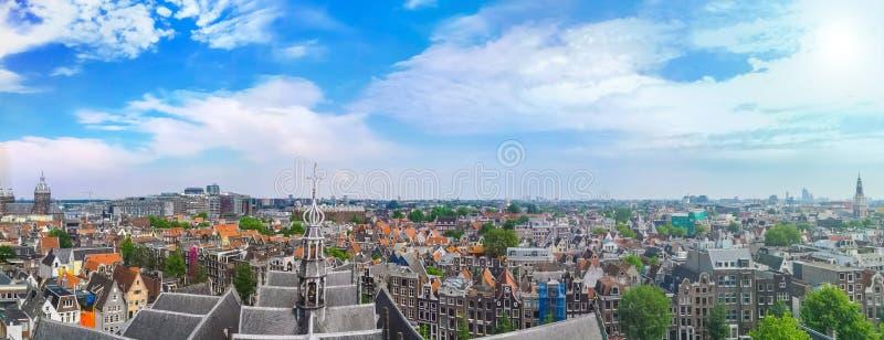 DE Wallen, Binnenstad-district in Amsterdam, Nederland royalty-vrije stock fotografie