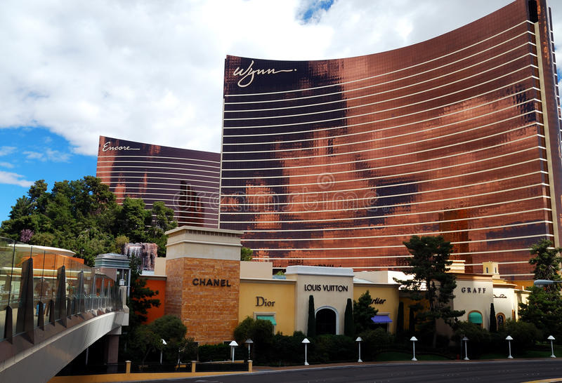 De Wandelgalerij van de modeshow, Las Vegas, Nevada stock foto