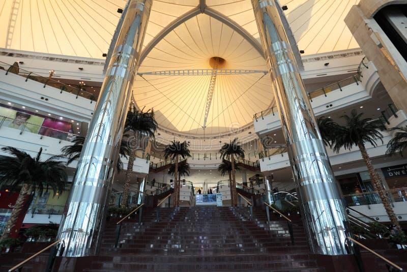 De Wandelgalerij van het Centrum van de stad in Doha, Qatar royalty-vrije stock fotografie
