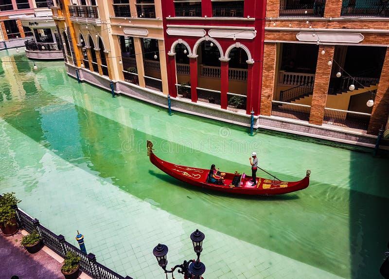 De Wandelgalerij van Venetië royalty-vrije stock foto's