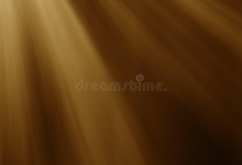 De warme lichteffecten van zonstralen stock fotografie