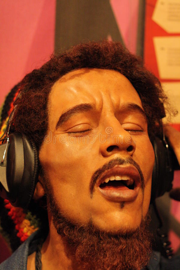 De wascijfer van Bob Marley royalty-vrije stock fotografie