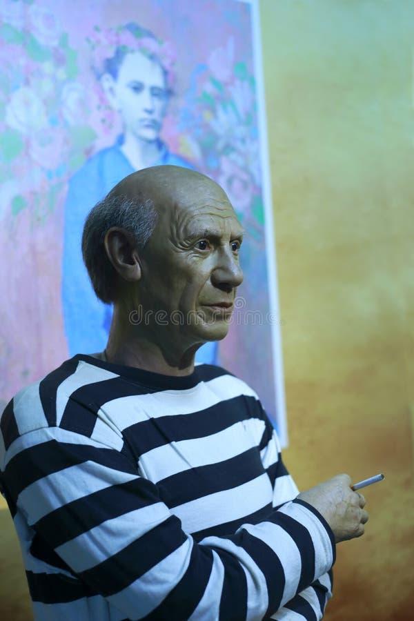 De wascijfer van Picasso royalty-vrije stock afbeeldingen