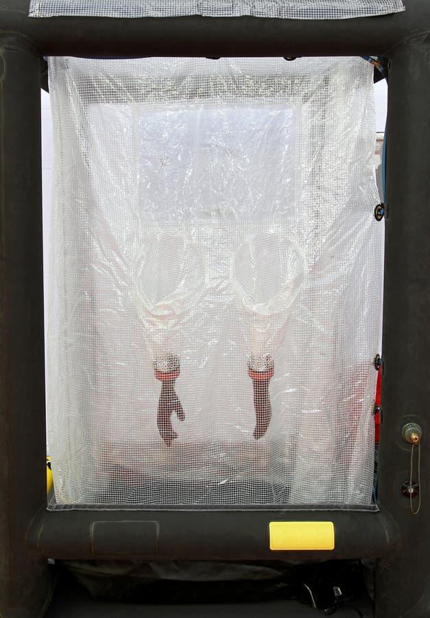 De waspost van Biohazard royalty-vrije stock afbeelding