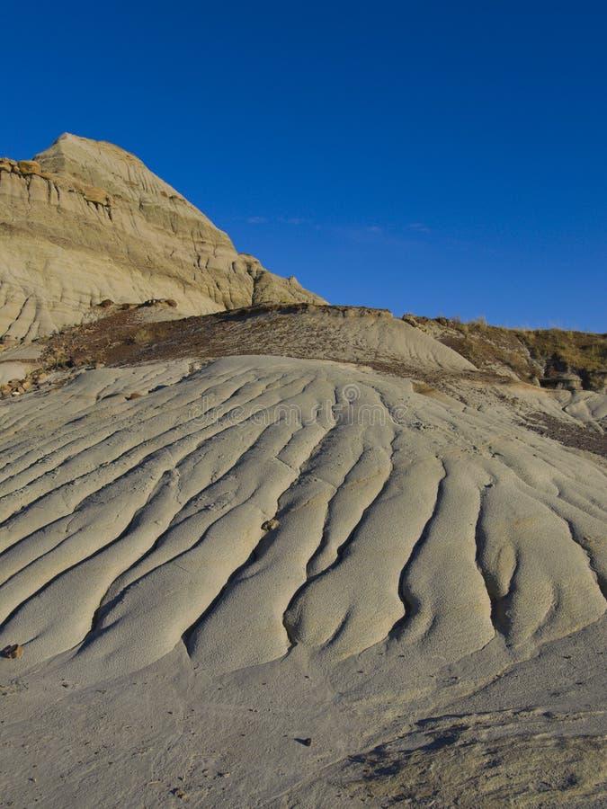 De water Geërodeerdek Steen van het Zand stock afbeeldingen