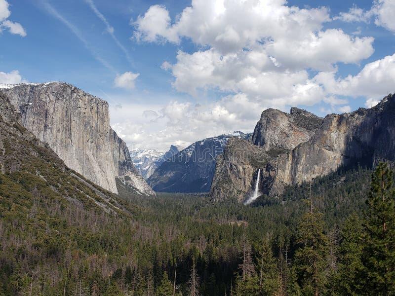 De waterdaling Yosemite royalty-vrije stock foto