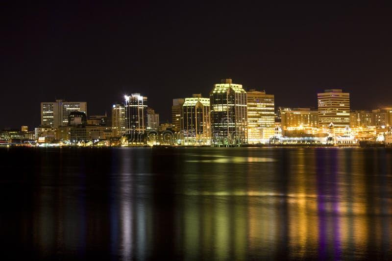 De Waterkant van Halifax royalty-vrije stock afbeeldingen