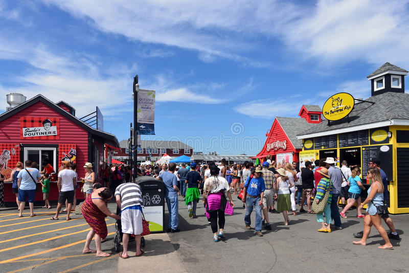 De Waterkant van Halifax stock foto