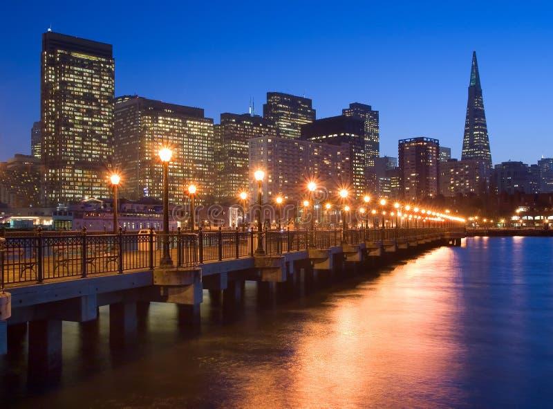De waterkant van San Francisco stock afbeeldingen