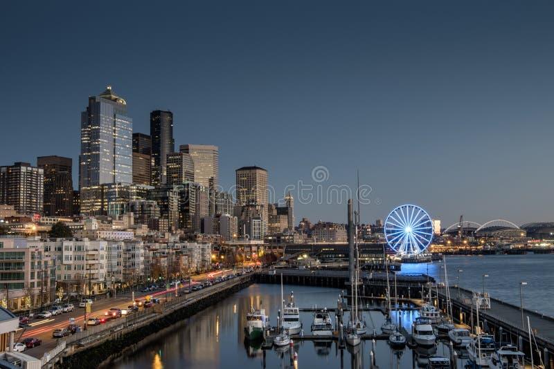 De Waterkant van Seattle stock foto