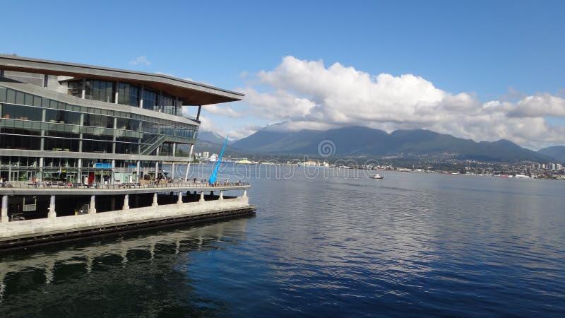 De Waterkant van Vancouver royalty-vrije stock foto